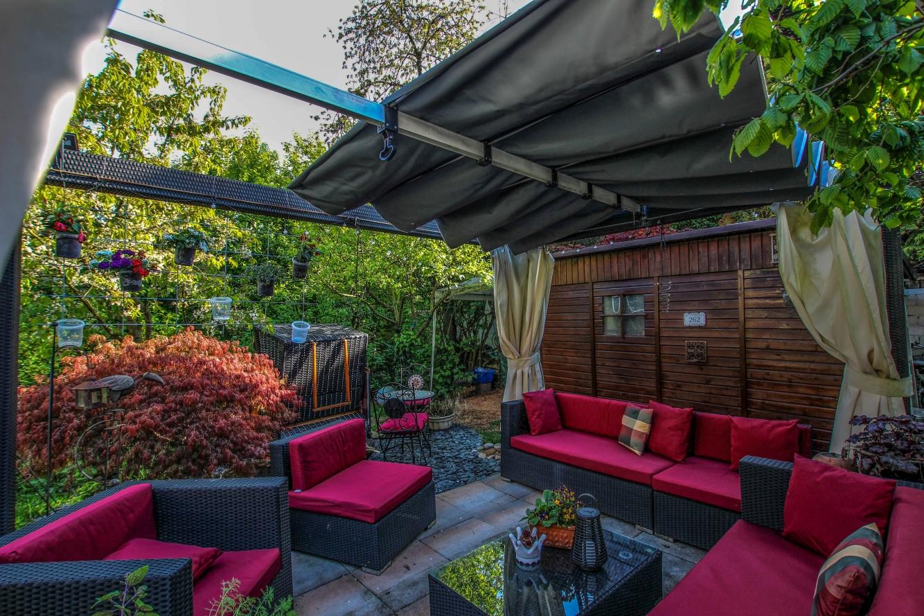 Neues Cabrio-Dach für den Pavillon