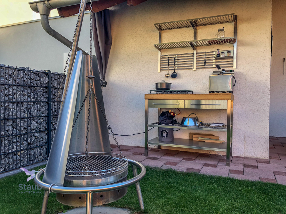 Outdoorküchen voll im Trend